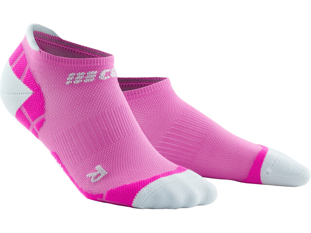 cep Ultralight Calcetines No Show Mujer, rosa/gris